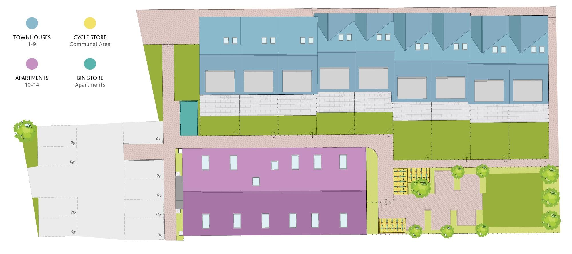 Vincent Site Plan
